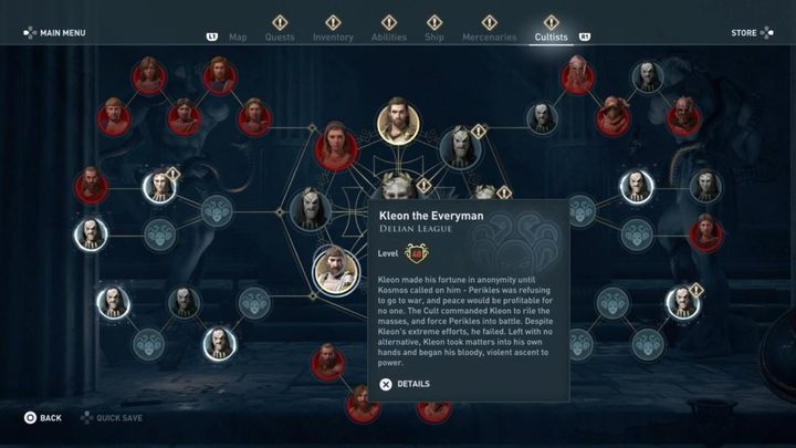 Where to find him - Delian League Cultists - Kosmos Cultists in Assassins Creed Odyssey - Kosmos Cultists - Assassins Creed Odyssey Guide