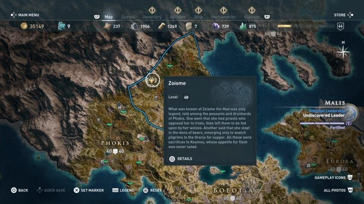 Where to find her - Worshippers of the Bloodline - Kosmos Cultists in Assassins Creed Odyssey - Kosmos Cultists - Assassins Creed Odyssey Guide