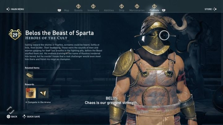 1 - Heroes of the Cult - Kosmos Cultists in Assassins Creed Odyssey - Kosmos Cultists - Assassins Creed Odyssey Guide