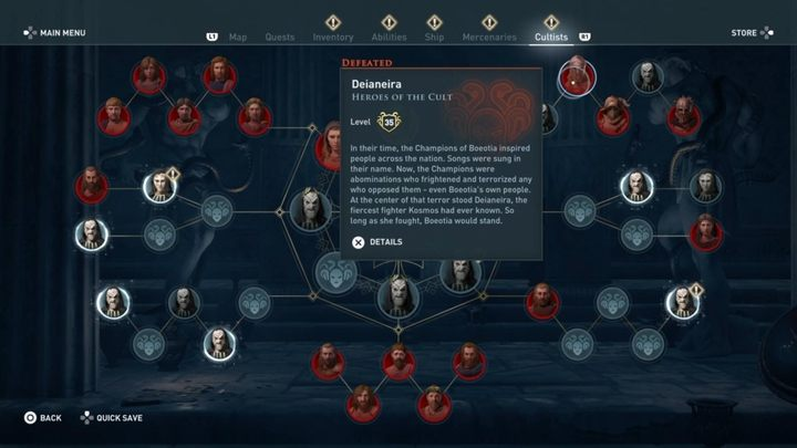 Where to find her - Heroes of the Cult - Kosmos Cultists in Assassins Creed Odyssey - Kosmos Cultists - Assassins Creed Odyssey Guide