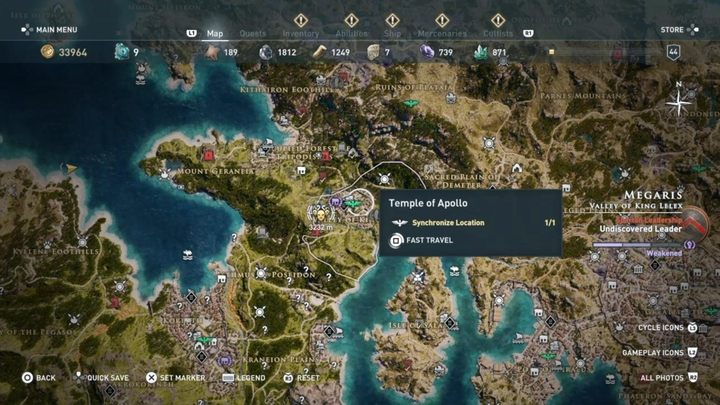 3 - Heroes of the Cult - Kosmos Cultists in Assassins Creed Odyssey - Kosmos Cultists - Assassins Creed Odyssey Guide