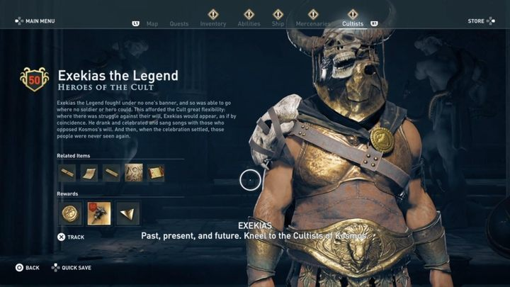 Where to find him - Heroes of the Cult - Kosmos Cultists in Assassins Creed Odyssey - Kosmos Cultists - Assassins Creed Odyssey Guide