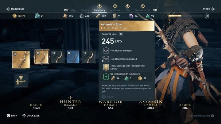 Hunter Build in Assassin's Creed Odyssey - Assassin's Creed Odyssey