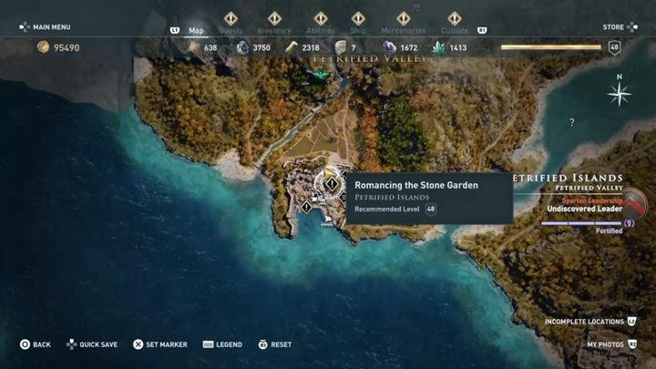 In order to unlock the fight against Medusa, you need to start the mission Romancing the Stone Garden in the Lesbos region - Medusa | Mythical creatures in Assassins Creed Odyssey - Mythical creatures - Assassins Creed Odyssey Guide