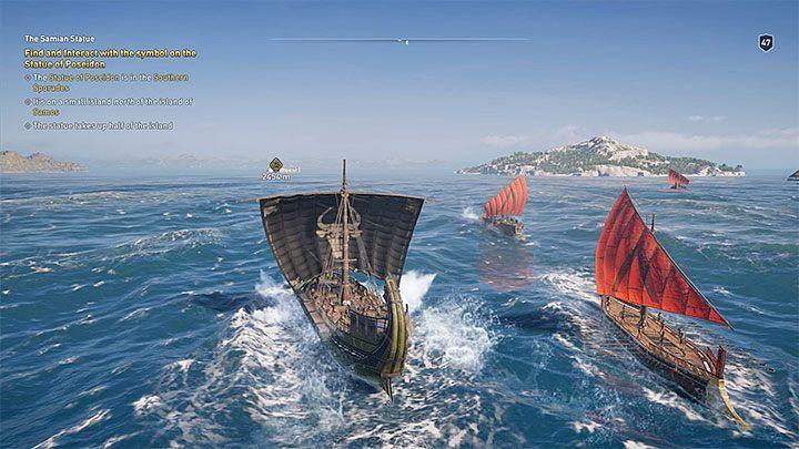 The most universal method is to help yourself with Icaros the eagle - How you can recognize other ships on the sea in Assassins Creed Odyssey? - FAQ - Assassins Creed Odyssey Guide