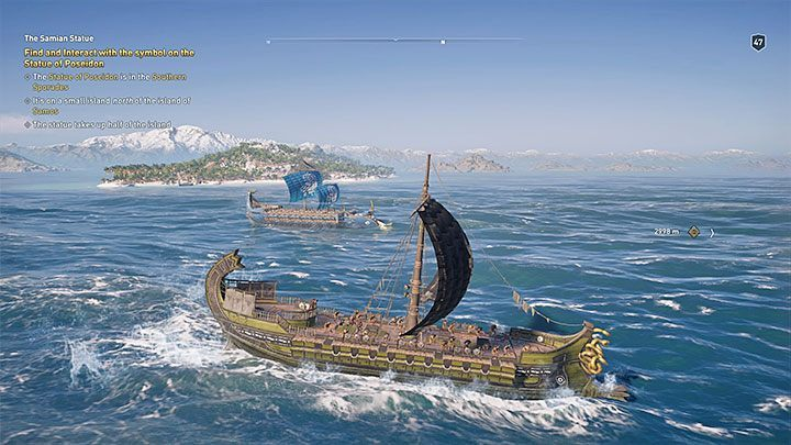 Athenian chips have blue flags - How you can recognize other ships on the sea in Assassins Creed Odyssey? - FAQ - Assassins Creed Odyssey Guide
