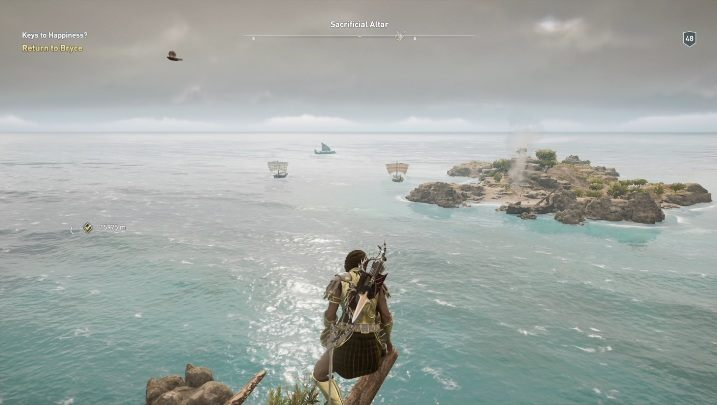 1 - Kythera Island Map - tombs, ostracons, documents, secrets - World Atlas - Assassins Creed Odyssey Guide