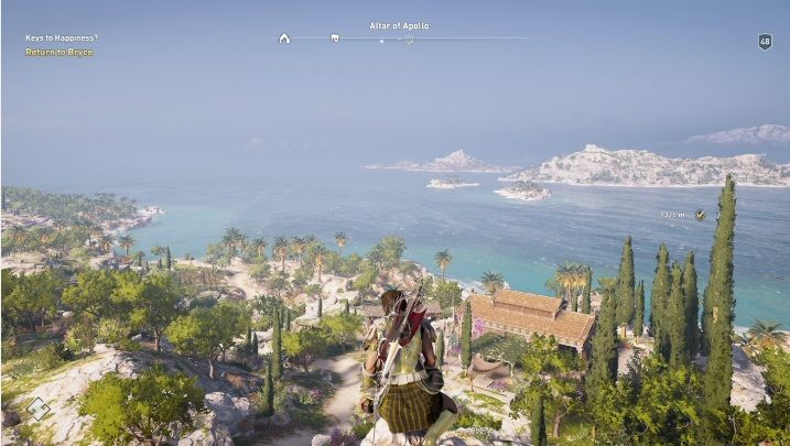 1 - Southern Sporades map - tombs, ostracons, documents, secrets - World Atlas - Assassins Creed Odyssey Guide