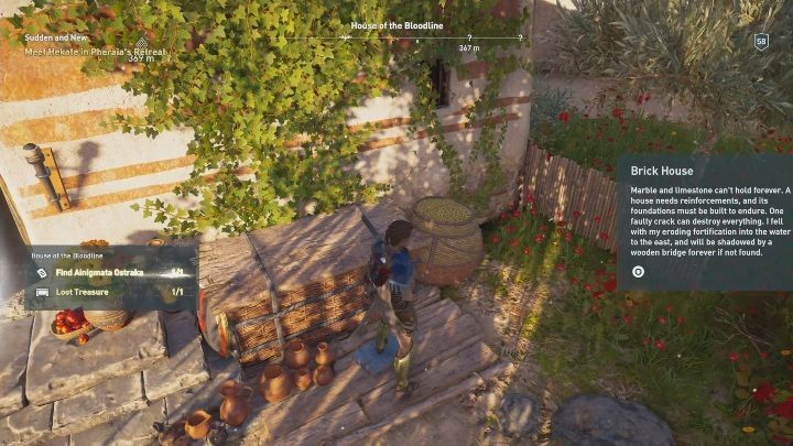 Location of Ainigmata Ostraka: The first part of ostracon can be found in House of the Bloodline - Fields of Elysium | Ainigmata Ostrakas in AC Odyssey Fate of Atlantis - Ainigmata Ostraka - Assassins Creed Odyssey Guide