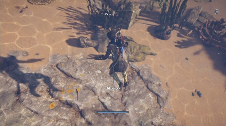 Solution to the puzzle: Can be found in the water west from Stromas High Peak - Fields of Elysium | Ainigmata Ostrakas in AC Odyssey Fate of Atlantis - Ainigmata Ostraka - Assassins Creed Odyssey Guide