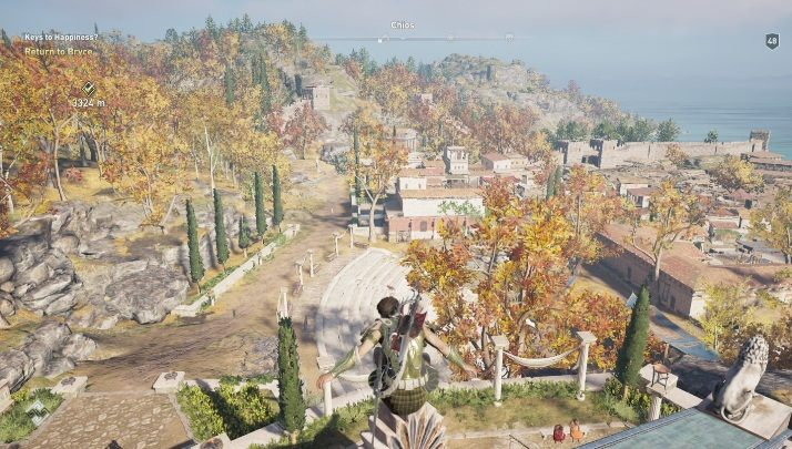 1 - Chios map - tombs, ostracons, documents, secrets - World Atlas - Assassins Creed Odyssey Guide