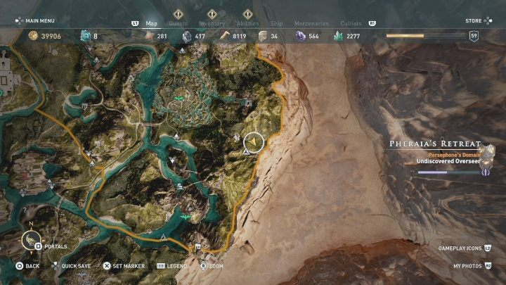 To reach Dead Heroes Haven, you have to cross Gaias Underpass - which is the only tomb within Pheraias Retreat - Meet Your Makers & The Keeper and Key Maker | Fate of Atlantis walkthrough - Episode 1 - Fields of Elysium - Assassins Creed Odyssey Guide