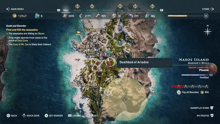 Speak with Myrrine - Paradise Lost - Assassins Creed Odyssey Walkthrough - Main Storyline - Assassins Creed Odyssey Guide