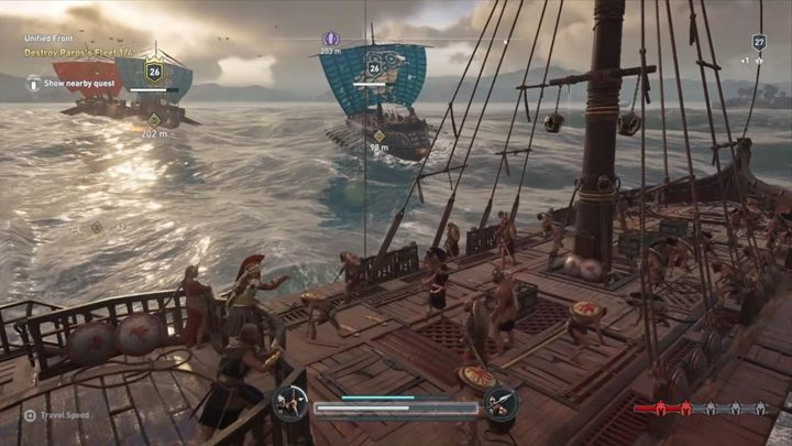 Time for more naval battles - Paradise Lost - Assassins Creed Odyssey Walkthrough - Main Storyline - Assassins Creed Odyssey Guide
