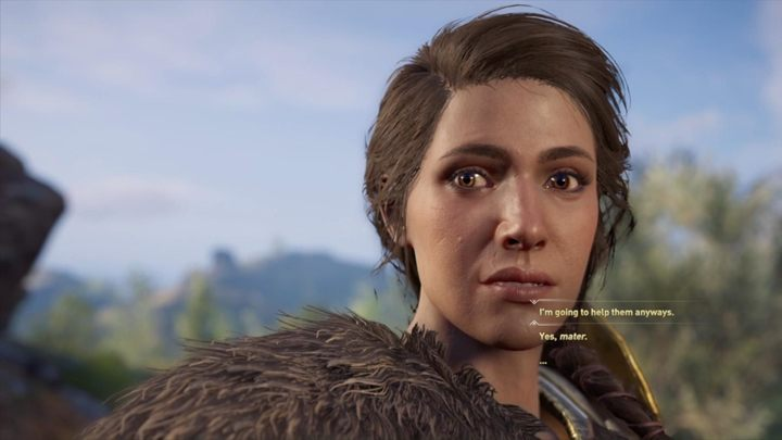 Time to go back to your home - Home is where my mother is - Assassins Creed Odyssey Walkthrough - Main Storyline - Assassins Creed Odyssey Guide