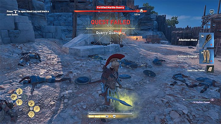 Can I fail a Quest in Assassin's Creed Odyssey? - Assassin's Creed