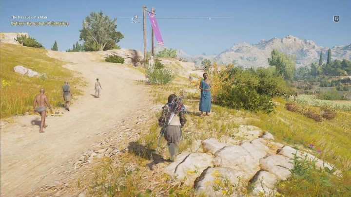 Youll visit a farm accompanied by the man - The Image of Faith - Side Quests in Assassins Creed Odyssey - Free DLC Side Quests - Assassins Creed Odyssey Guide