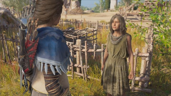 Your first objective is to talk to Heriphile - The Image of Faith - Side Quests in Assassins Creed Odyssey - Free DLC Side Quests - Assassins Creed Odyssey Guide