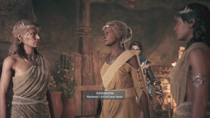 Your next job is to talk to the woman - The Image of Faith - Side Quests in Assassins Creed Odyssey - Free DLC Side Quests - Assassins Creed Odyssey Guide