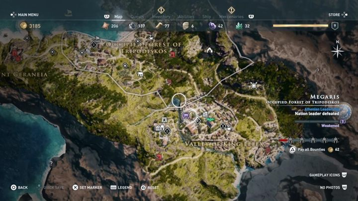 1 - Megaris - Side Quests in Assassins Creed Odyssey - Side Quests - Assassins Creed Odyssey Guide