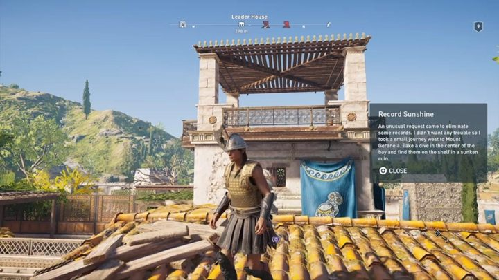 Location of the ostracon: The leaders house - Megaris - Side Quests in Assassins Creed Odyssey - Side Quests - Assassins Creed Odyssey Guide