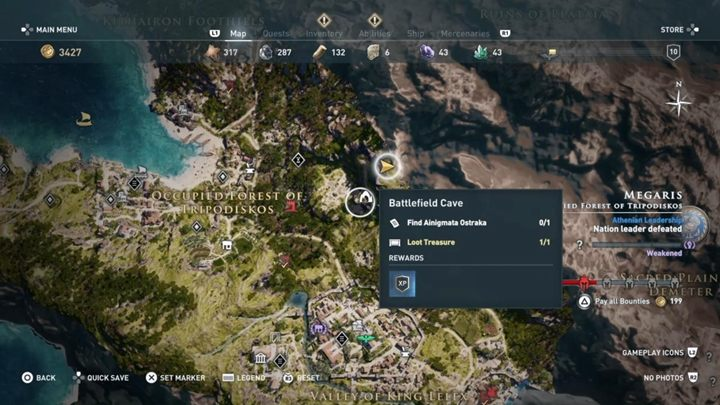 2 - Megaris - Side Quests in Assassins Creed Odyssey - Side Quests - Assassins Creed Odyssey Guide