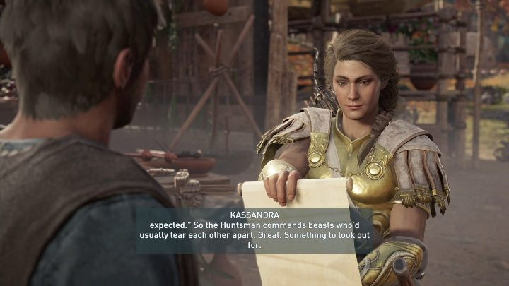 After defeating your opponents, talk to Natakas and go on to the next task - Hunting the Huntsman | Legacy of the First Blade Walkthrough - Episode 1 - Assassins Creed Odyssey Guide