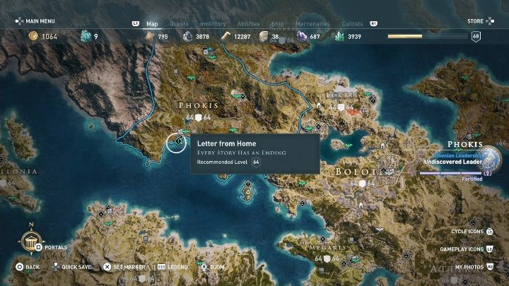 Every Story Has An Ending Side Quests In Assassin S Creed Odyssey Assassin S Creed Odyssey Guide Gamepressure Com