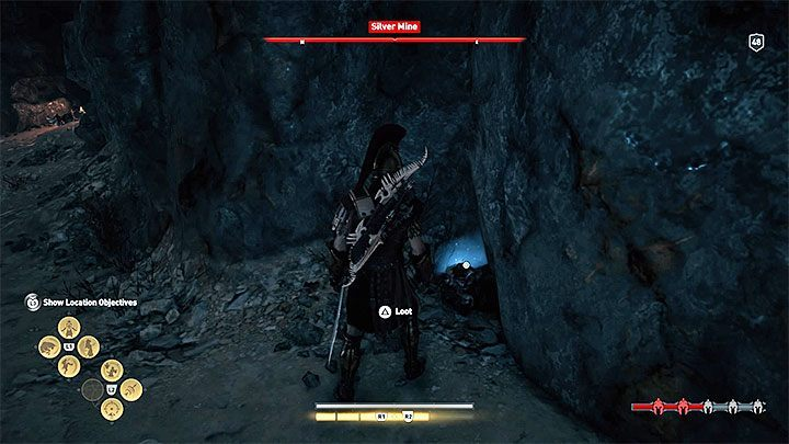 The mine itself and the adjacent camp (Lavrio Silver Mine) are guarded by enemies - How to get crafting materials in Assassins Creed Odyssey Game? - FAQ - Assassins Creed Odyssey Guide