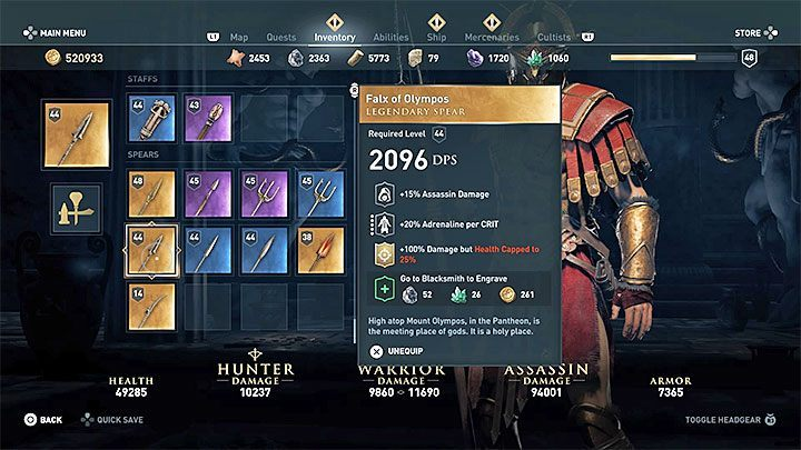 Are There Cursed Weapons In The Assassin S Creed Odyssey Game
