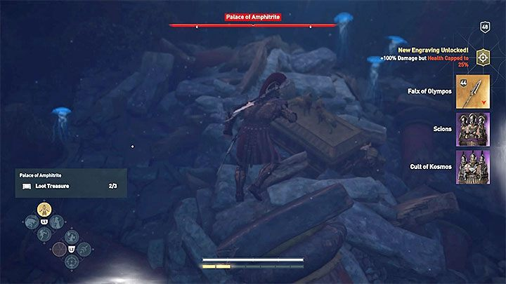 assassins creed odyssey falx of olympus