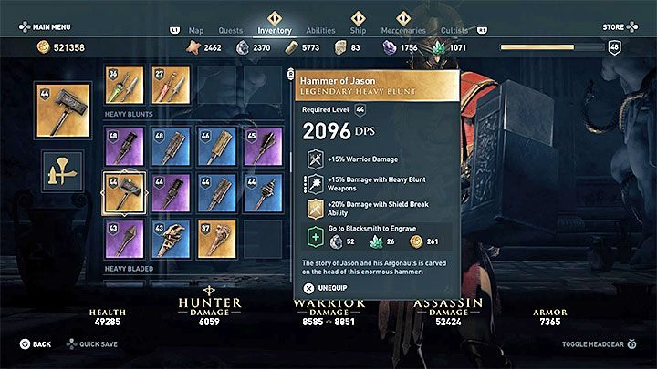 Legendary Chests in Assassin's Creed Odyssey - Assassin's Creed