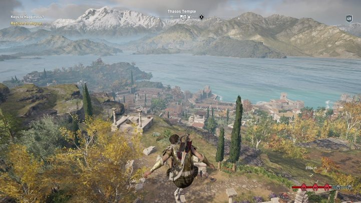 1 - Hephaistos Islands Map - tombs, ostracons, documents, secrets - World Atlas - Assassins Creed Odyssey Guide