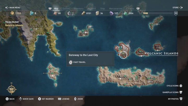 How To Get To Atlantis In Assassin S Creed Odyssey Fate Of
