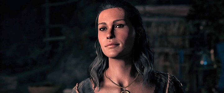 Kyra is the Spartan Rebellion leader who lives on the Silver Islands in Assassins Creed: Odyssey - Kyra - Romances in Assassins Creed Odyssey - Romances - Assassins Creed Odyssey Guide