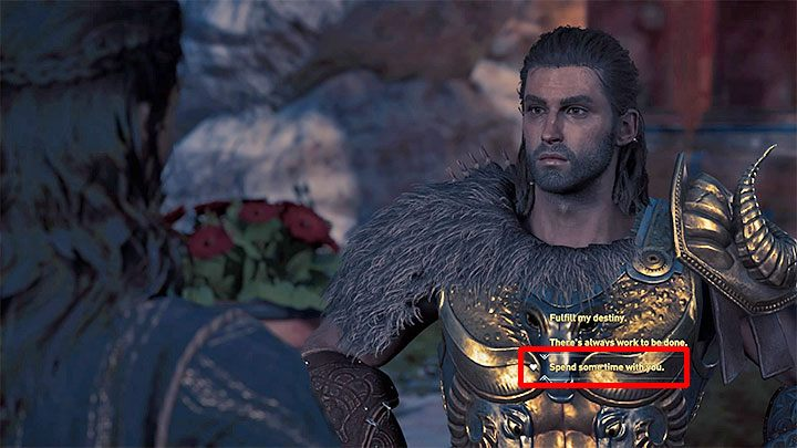 When completing the Kyra with a Cause quest, meet Kyra by the Temple of Artemida and then take up the task of destroying all Athenians war supplies on the Isle of Delos - Kyra - Romances in Assassins Creed Odyssey - Romances - Assassins Creed Odyssey Guide