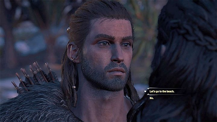 Once again, return to the cave where the rebels are hiding - Kyra - Romances in Assassins Creed Odyssey - Romances - Assassins Creed Odyssey Guide