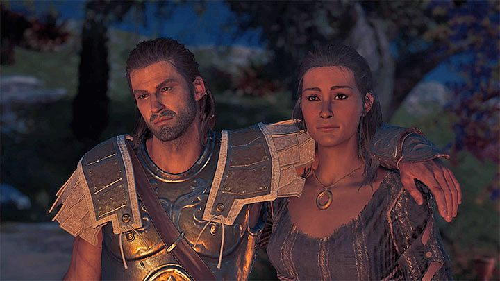 A Night to Remember is a quest during which you will part your ways with the people of this island - Kyra - Romances in Assassins Creed Odyssey - Romances - Assassins Creed Odyssey Guide