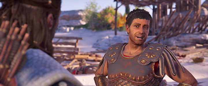 Thaletas is a Spartan who helps the rebels of the Silver Islands archipelago in Assassins Creed: Odyssey - Thaletas - Romances in Assassins Creed Odyssey - Romances - Assassins Creed Odyssey Guide