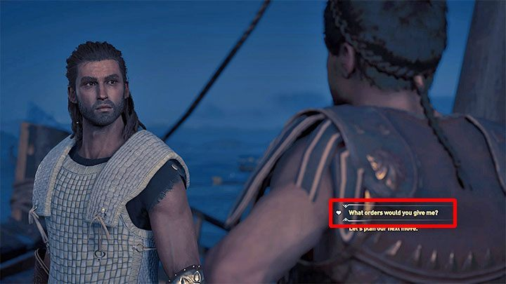 Return to the Spartan camp on the beach as part of The Thaletas Way quest to meet Thaletas again and receive a first assignment - Thaletas - Romances in Assassins Creed Odyssey - Romances - Assassins Creed Odyssey Guide