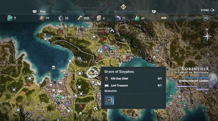 2 - Korinthia - Ainigmata Ostraka in Assassins Creed Odyssey Game - Ainigmata Ostraka - Assassins Creed Odyssey Guide