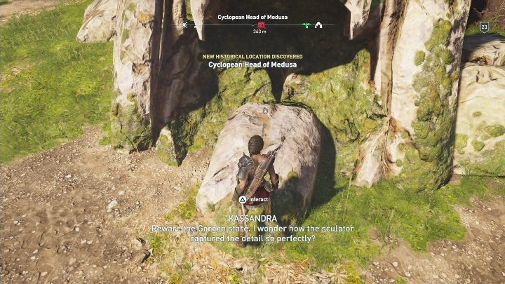 Riddle solution: Go to the area near Kephisos Sanctuary Ruins - Korinthia - Ainigmata Ostraka in Assassins Creed Odyssey Game - Ainigmata Ostraka - Assassins Creed Odyssey Guide
