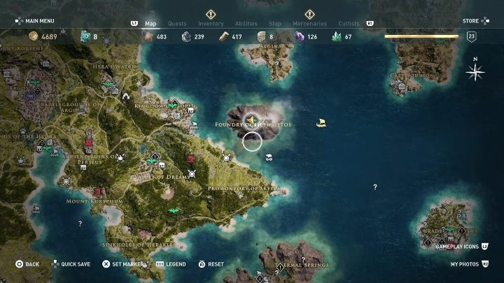2 - Ainigmata Ostraka in Argolis in Assassins Creed Odyssey Game - Ainigmata Ostraka - Assassins Creed Odyssey Guide