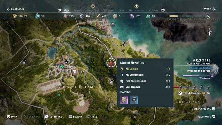 4 - Ainigmata Ostraka in Argolis in Assassins Creed Odyssey Game - Ainigmata Ostraka - Assassins Creed Odyssey Guide
