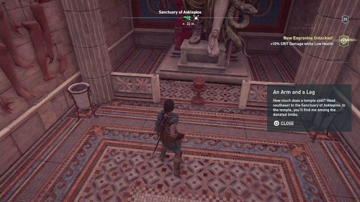 Riddle solution: Go to the Sanctuary - Ainigmata Ostraka in Argolis in Assassins Creed Odyssey Game - Ainigmata Ostraka - Assassins Creed Odyssey Guide