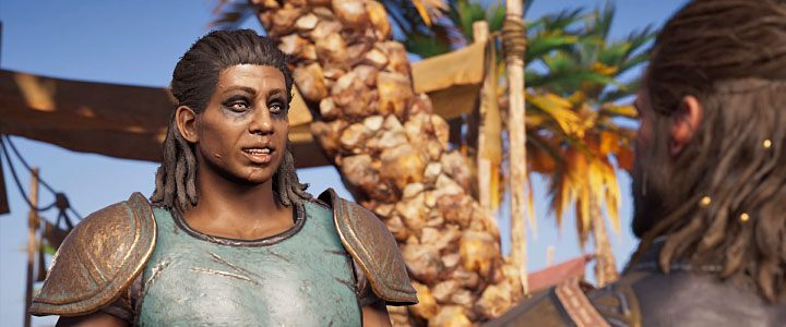 Xenia is the leader of a pirate group in Assassins Creed: Odyssey - Xenia - Romances in Assassins Creed Odyssey - Romances - Assassins Creed Odyssey Guide