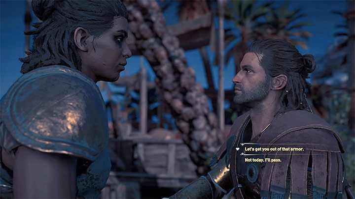 2 - Xenia - Romances in Assassins Creed Odyssey - Romances - Assassins Creed Odyssey Guide