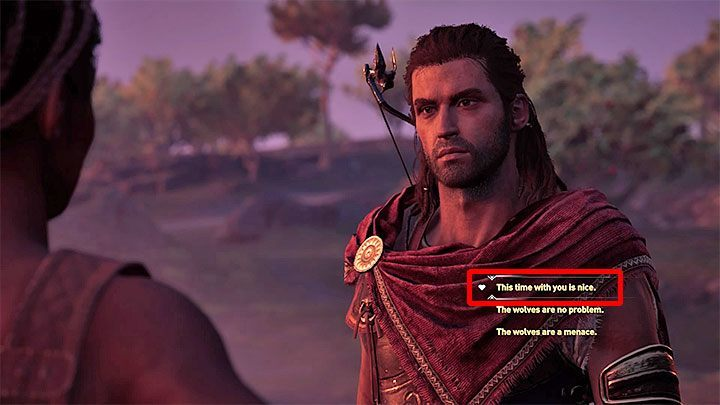 Agree to have a sparring fight with Roxana - Roxana - Romances in Assassins Creed Odyssey - Romances - Assassins Creed Odyssey Guide