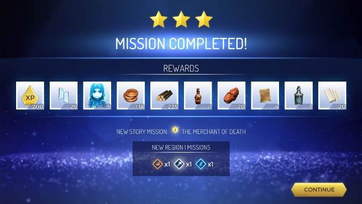 Performing a mission - for performing a mission you will get a lot of experience points - How to gain experience levels in Assassins Creed Rebellion? - Basics - Assassins Creed Rebellion Guide