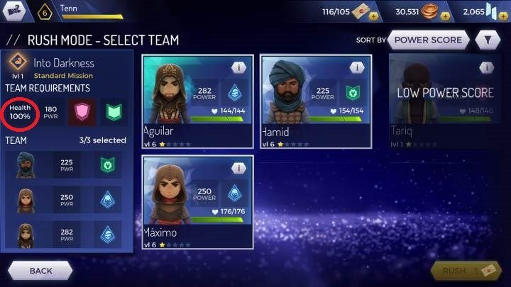 Rush Mode In Assassin S Creed Rebellion Assassin S Creed